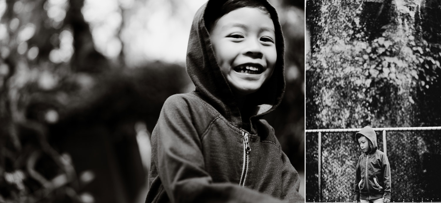 gardens by the bay, Singapore, family shoot, family portrait, boy, explorer, boy with hoodie